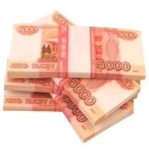 Пачка денег - 5000 рублей сувенирная