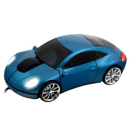 Мышь «Lazaro 911» оптическая голубая USB