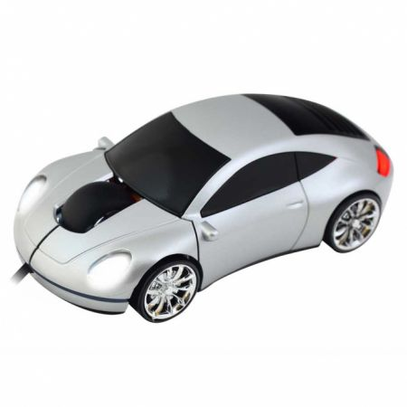 Мышь «Porshe 911» Lazaro оптическая серебристая USB