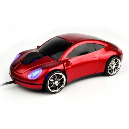 """Мышь """"Porshe 911"""" Lazaro оптическая красная машина USB"""