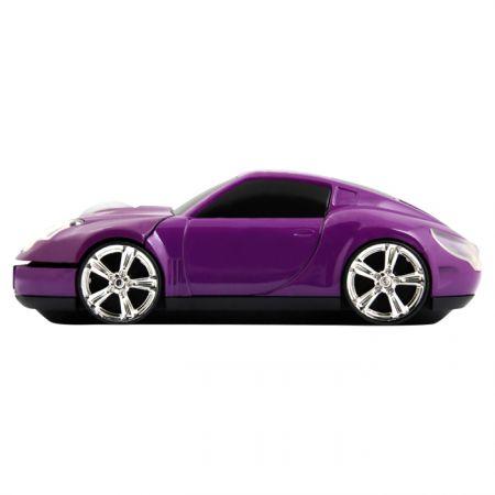 """Мышь машинка """"Lambo"""" фиолетовая USB"""