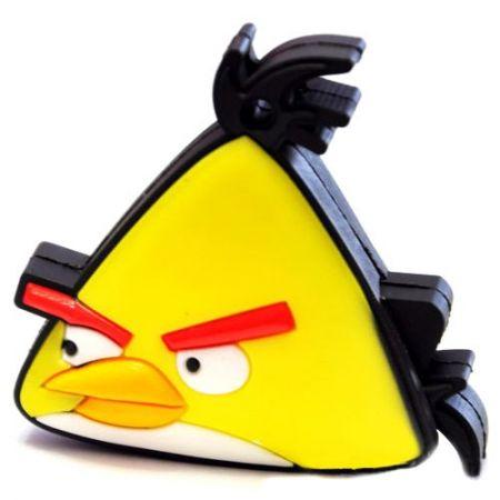 "Флешка ""Angry birds"" 8 Гб желтая птица плоская"