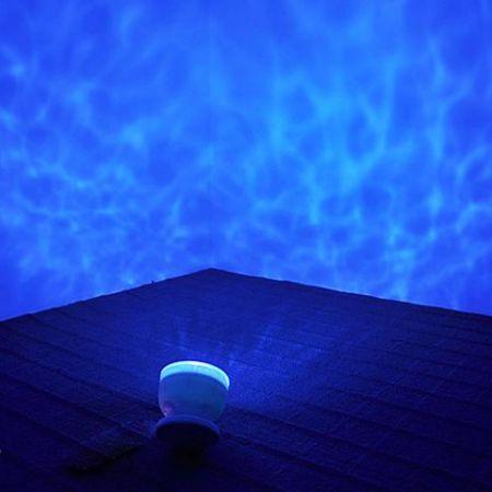 """Проектор """"Волн океана"""" ночник со встроенной колонкой"""
