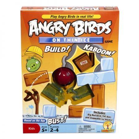 """Игра """"Angry Birds""""  с карточками заданиями"""