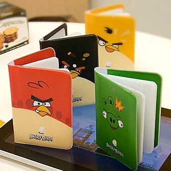 "Визитница ""Angry Birds"""