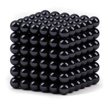 Головоломка Нео куб 6мм 216 сфер черный