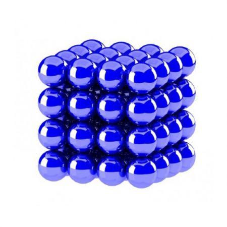 Головоломка Нео куб 5мм 64 сферы синий