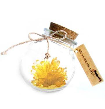 "Кристалл в банке ""Magic Crystal"" желтый"