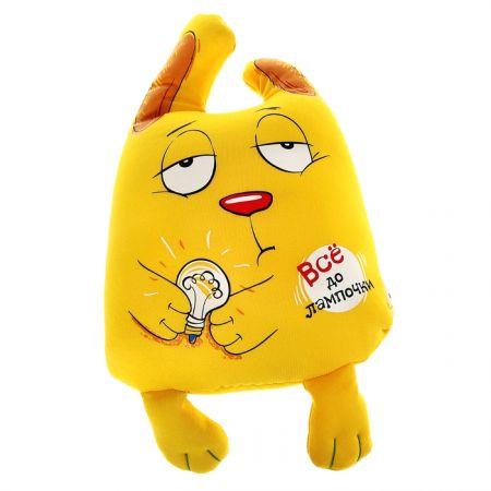 """Антистресс-игрушка зайка """"Все до лампочки"""""""