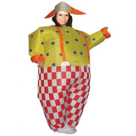 "Надувной костюм ""Клоун"""