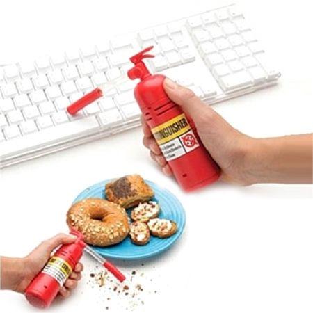 """Мини - пылесос для рабочего стола """"Огнетушитель"""""""