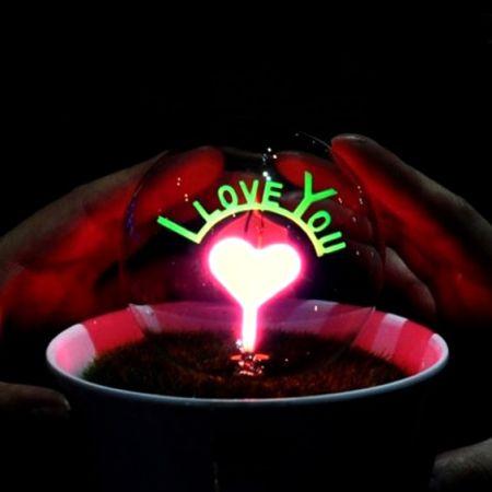 Светильник - ночник LYL с надписью I Love you