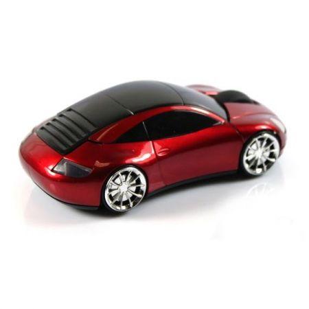 Мышь беспроводная «Lazaro 911» оптическая красная машина