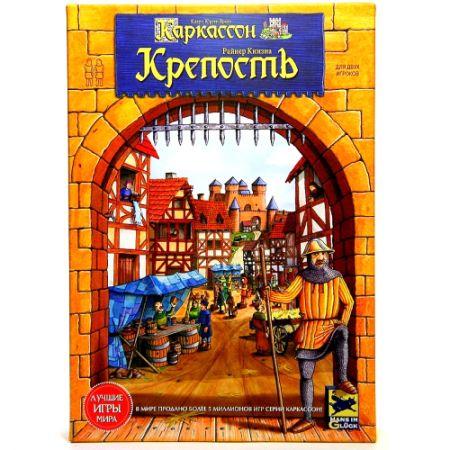"""Настольная игра """"Каркассон. Крепость"""" (новая версия)"""