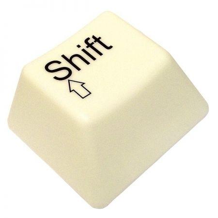 Светильник Кнопка от клавиатуры 220 Вольт Shift