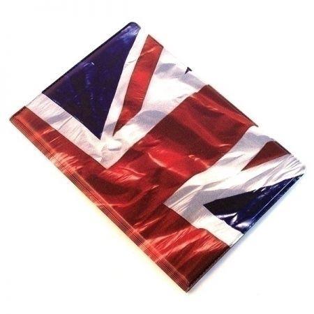 Обложка на паспорт твердая N28 Английский флаг N1