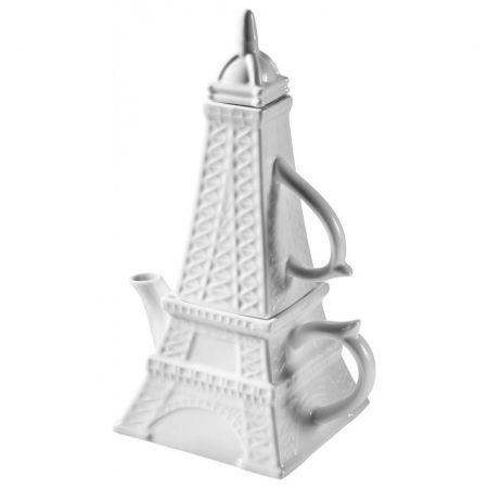 Чайник Эйфелева башня с кружкой